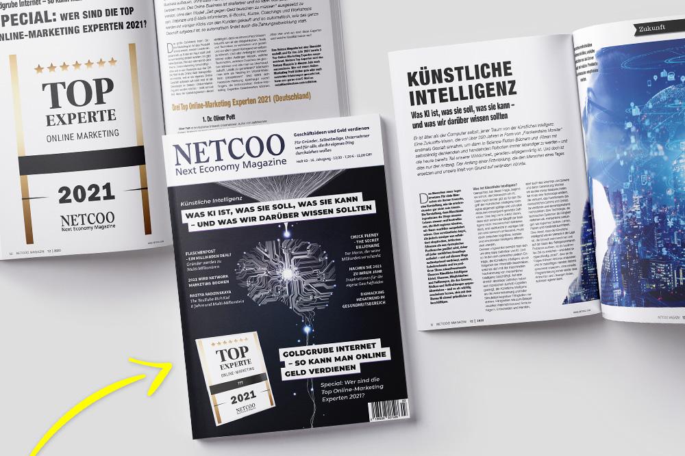 das-neue-netcoo-magazin:-ki-–-top-online-marketing-experten-2021-–-young-generation-–-network-marketing-und-vieles-mehr